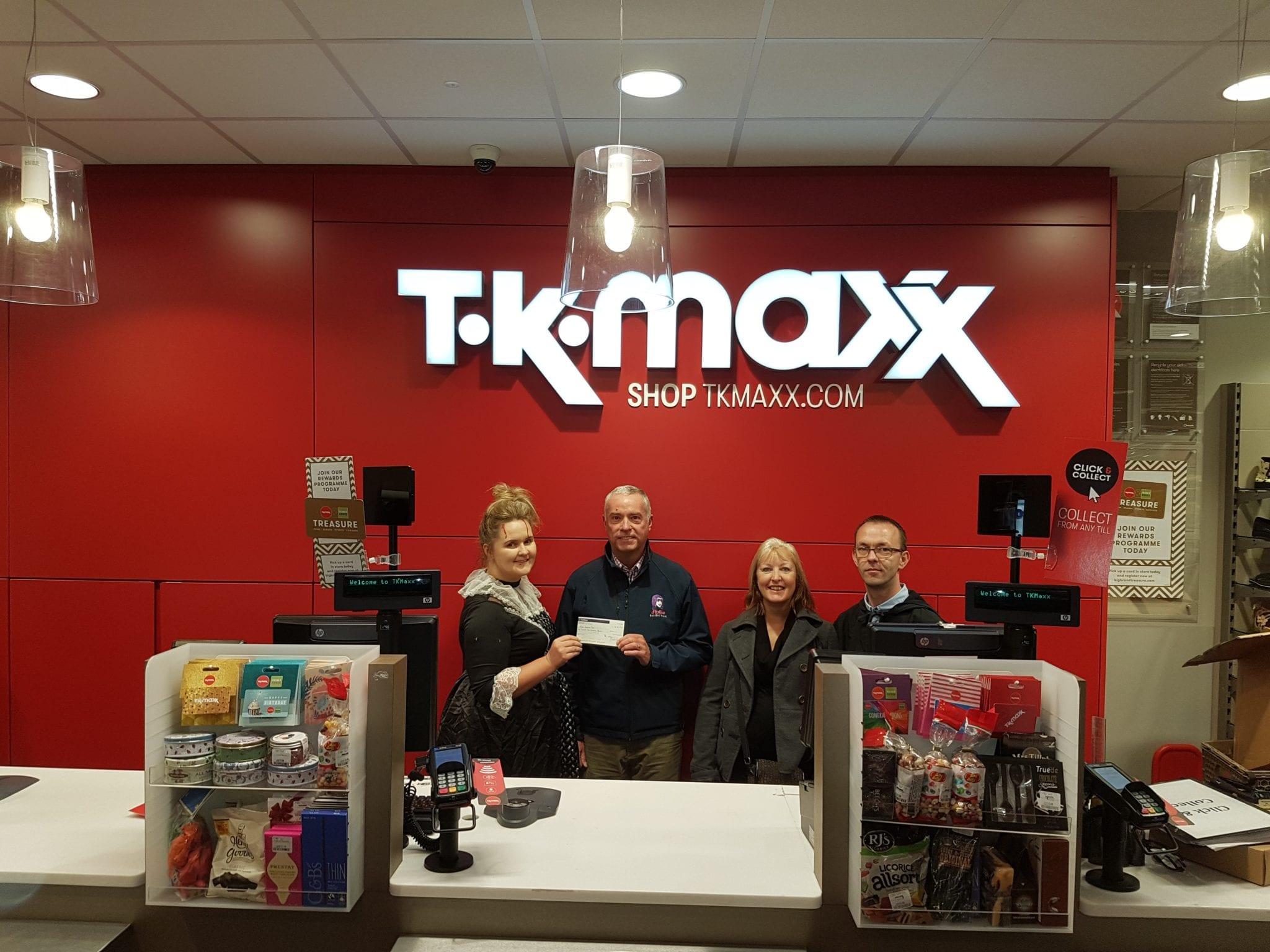 TK Maxx Gloucester Support Hollie Gazzard Trust