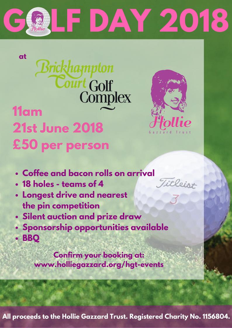 HGT Golf Day 2018