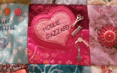 The Women's Quilt Exhibition Remembers Hollie and victims