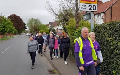 Huge turnout for walk in memory of Hollie Gazzard