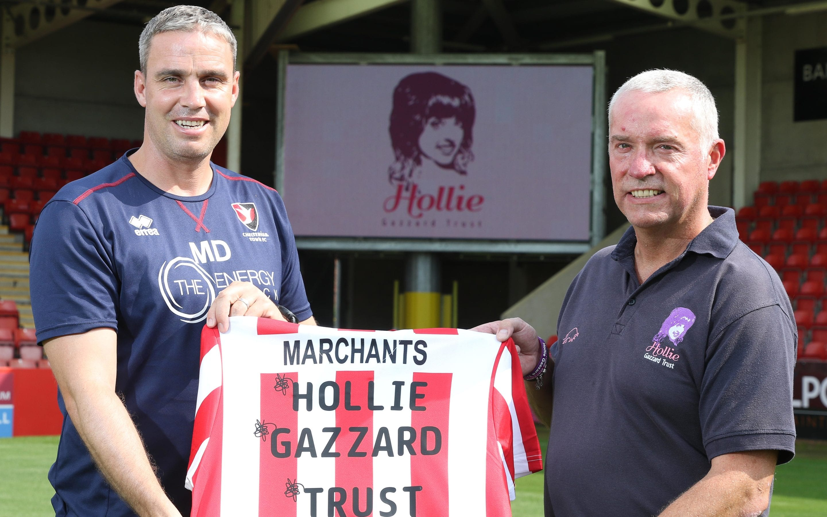 Hollie Gazzard Trust Named Cheltenham Town FC Charity of the Year