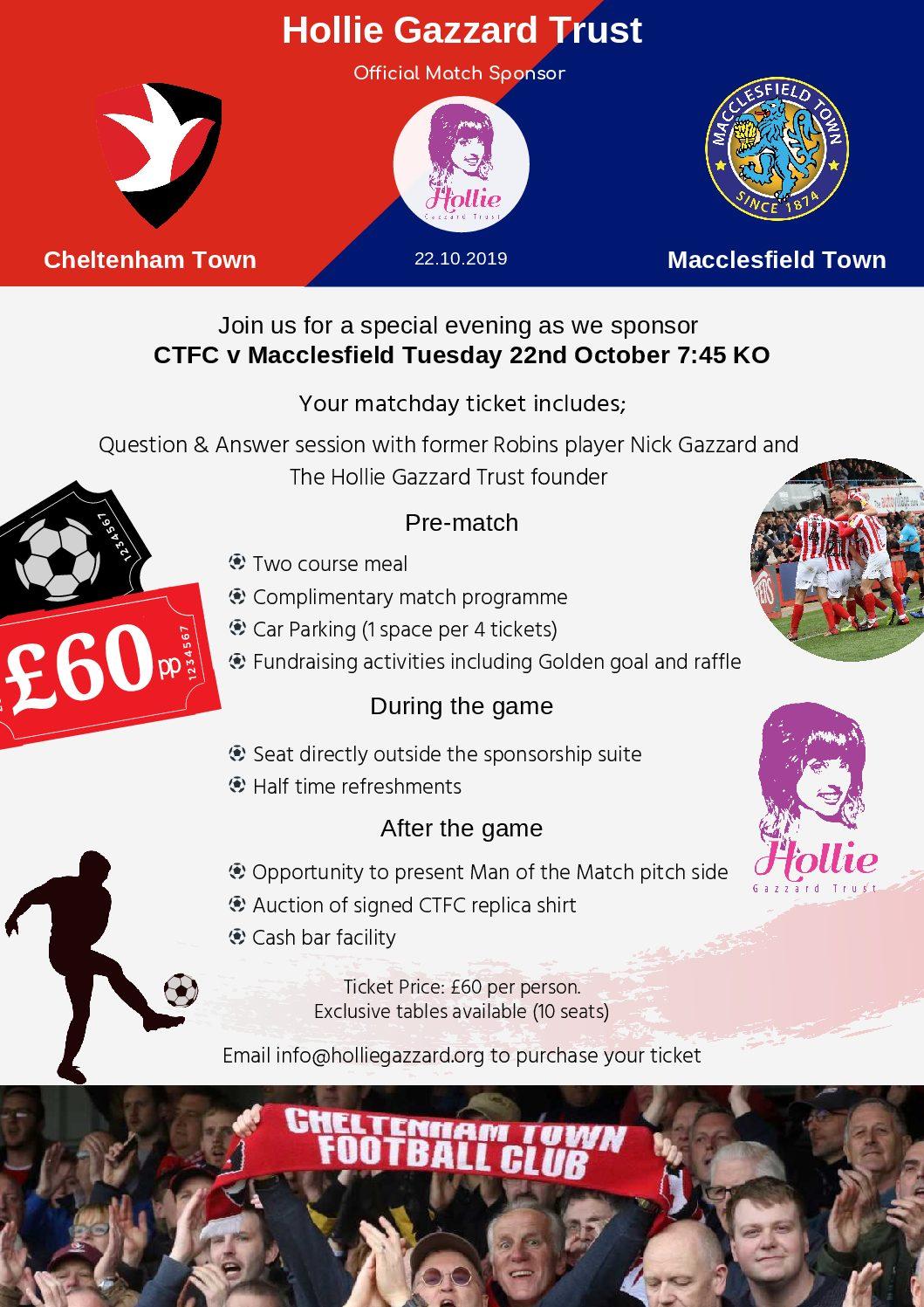 CTFC V Macclesfield