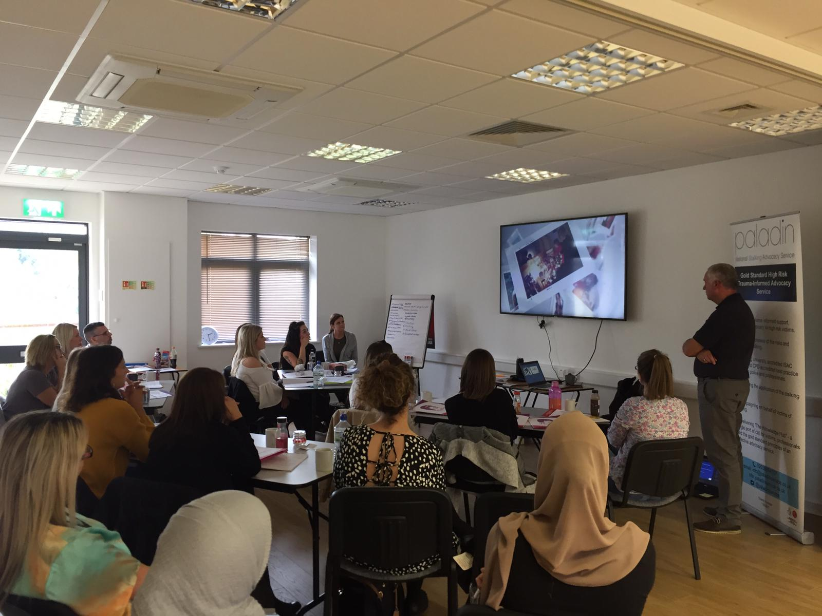 Nick Gazzard Trains Independent Stalking Advocacy Caseworkers
