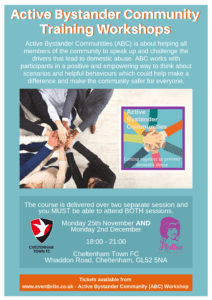 Active Bystander Community Training Workshops