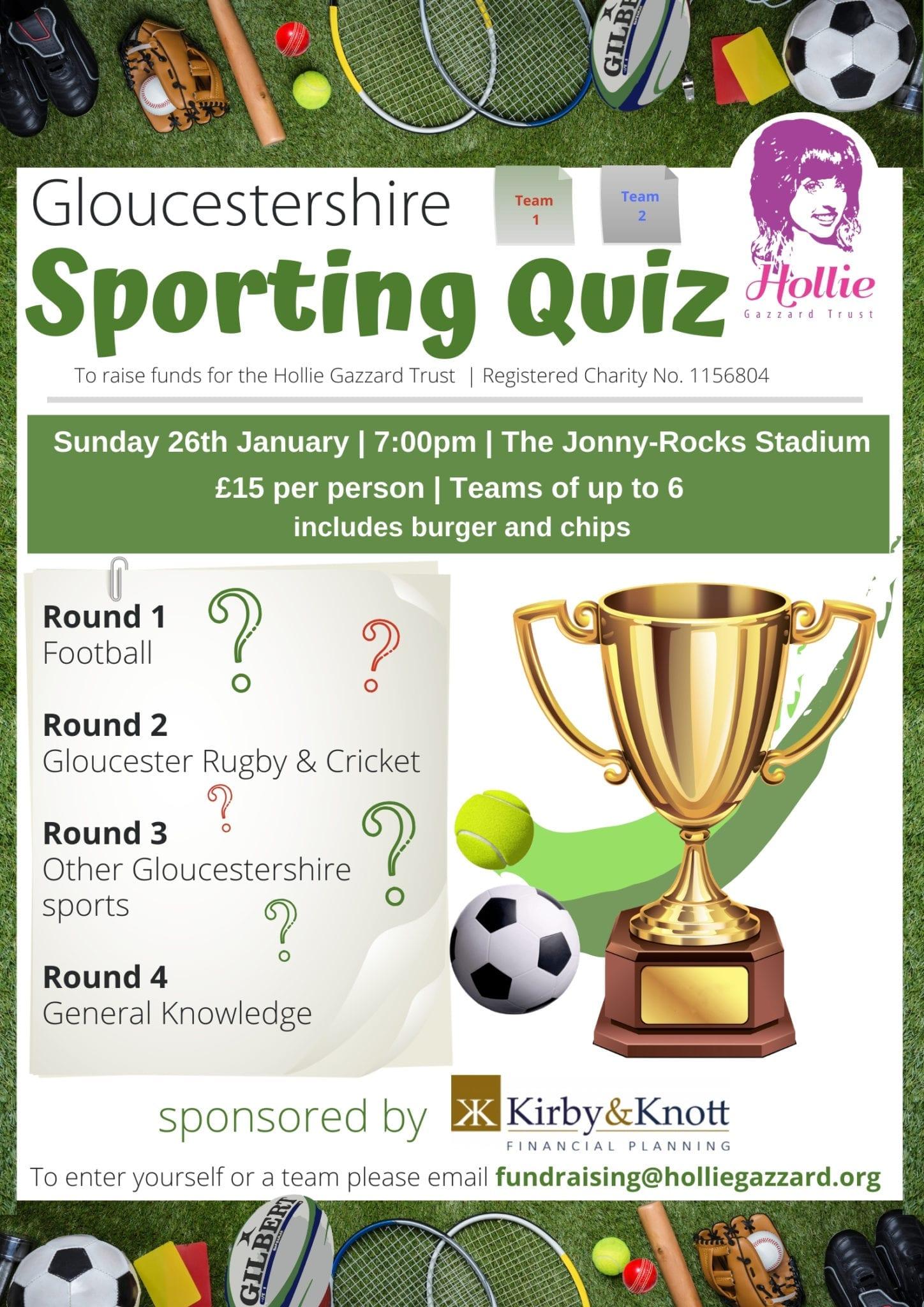 Gloucestershire Sports Quiz