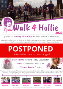 Walk4Hollie @ The King Edward VII