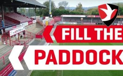 Cheltenham Town FC Fill the Paddock