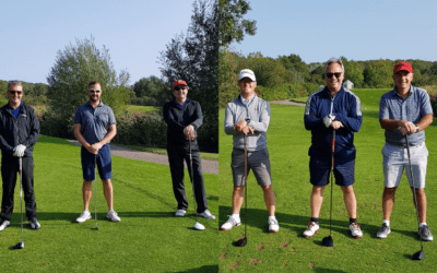 Golfers Swing in to Raise Funds